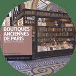 """couverture du livre """"Boutiques anciennes de Paris"""""""